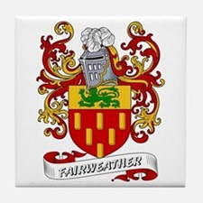 Fairweather Coat of Arms Tile Coaster