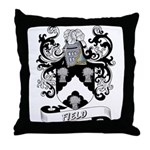 Field Coat of Arms Throw Pillow