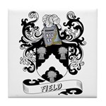 Field Coat of Arms Tile Coaster