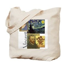 Cute Sunflower van gogh Tote Bag