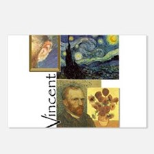 Funny Vincent Postcards (Package of 8)