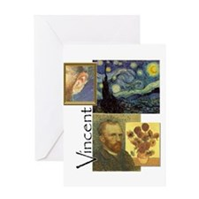 Vincent HR Greeting Cards