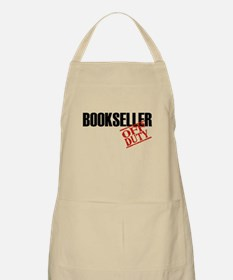 Off Duty Bookseller BBQ Apron