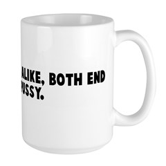Man and mouse alike both end Mug