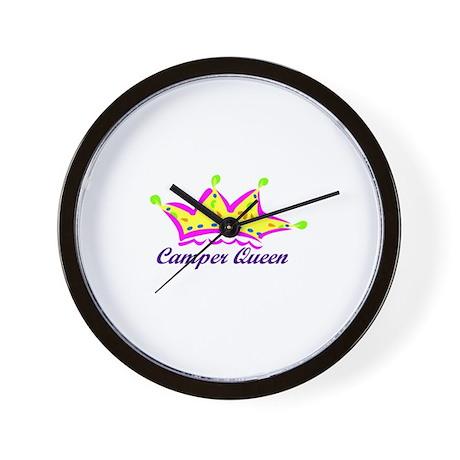 camperqueen Wall Clock