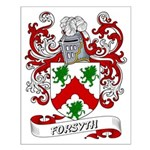 Forsyth Coat of Arms Small Poster
