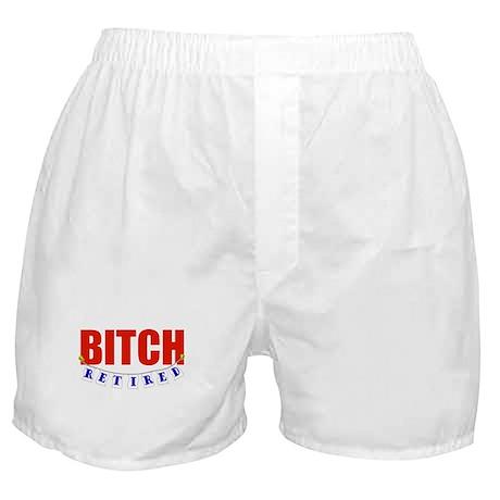 Retired Bitch Boxer Shorts
