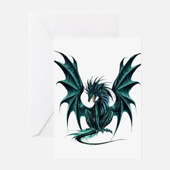 Ruth Thompson's Jade Dragon Greeting Cards