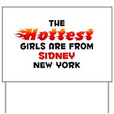 Hot Girls: Sidney, NY Yard Sign