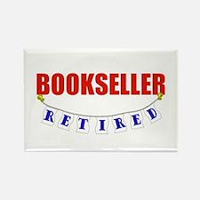 Retired Bookseller Rectangle Magnet
