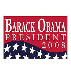 Barack Obama 2008 (8 Postcards)