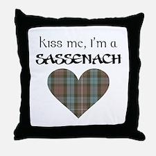 Kiss Me! Throw Pillow