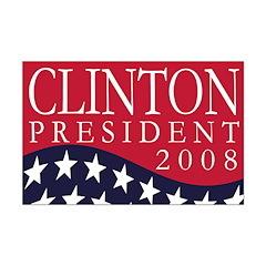 Clinton President 2008 (11x17 Poster)