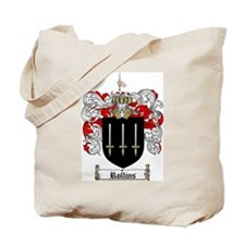 Rollins Family Crest Tote Bag