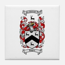 Rogers Coat of Arms Tile Coaster