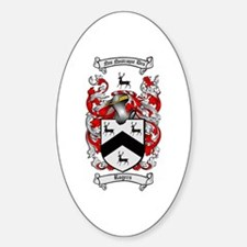 Rogers Coat of Arms Oval Decal