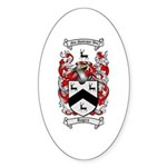 Rogers Coat of Arms Oval Sticker