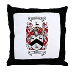 Rogers Coat of Arms Throw Pillow