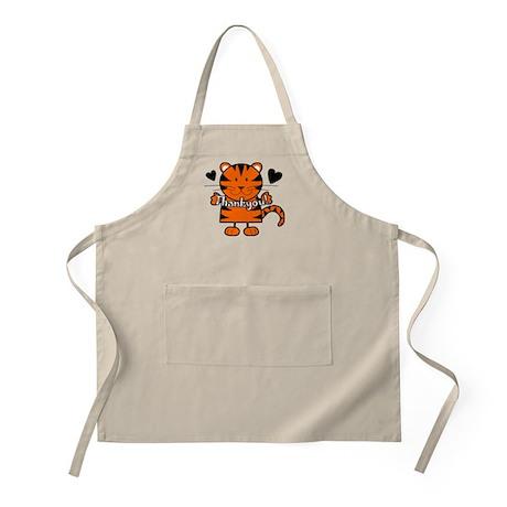 Tiger Thankyou BBQ Apron