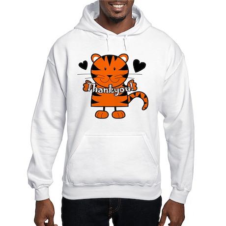 Tiger Thankyou Hooded Sweatshirt