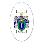 Rodriguez Coat of Arms Oval Sticker