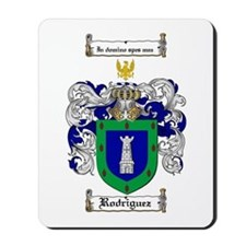 Rodriguez Coat of Arms Mousepad