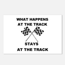 AT THE TRACK Postcards (Package of 8)