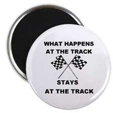 AT THE TRACK Magnet