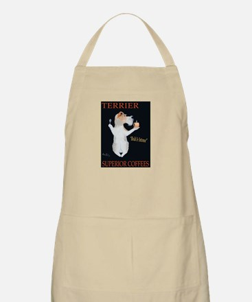 Terrier Superior Coffees Light Apron