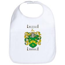Robinson Coat of Arms Bib