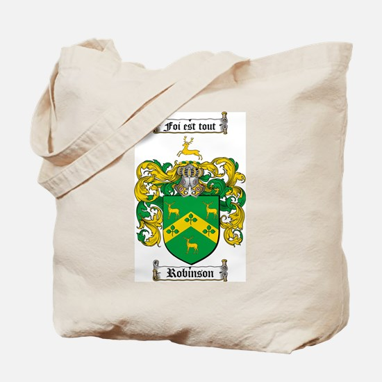 Robinson Coat of Arms Tote Bag