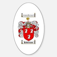 Robertson Coat of Arms Oval Decal