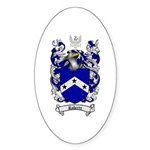 Roberts Coat of Arms Oval Sticker