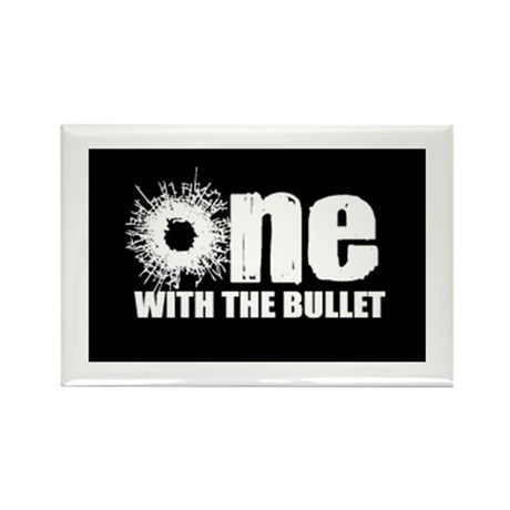 one with the bullet Rectangle Magnet