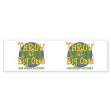 Mardi Gras Big Ones Bumper Bumper Sticker