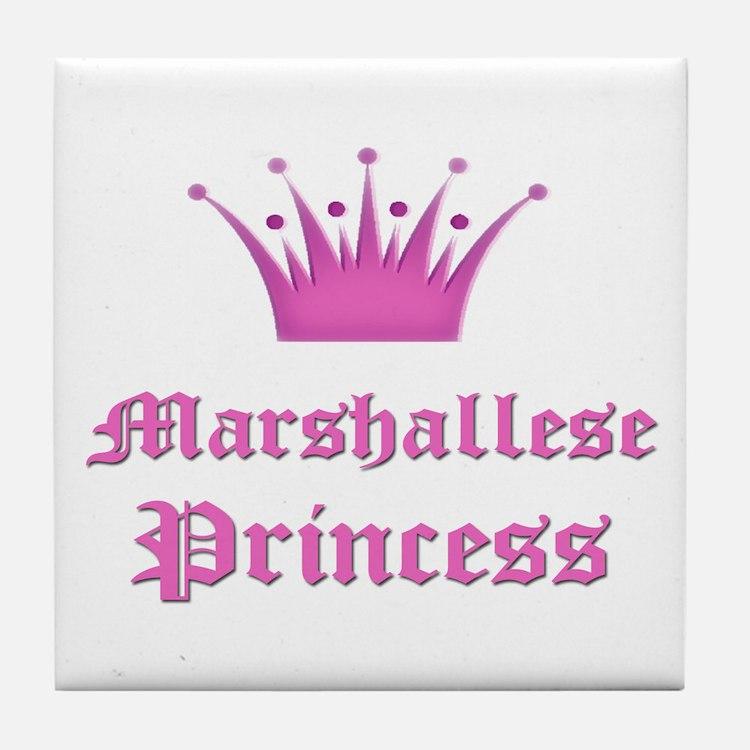 Marshallese Princess Tile Coaster