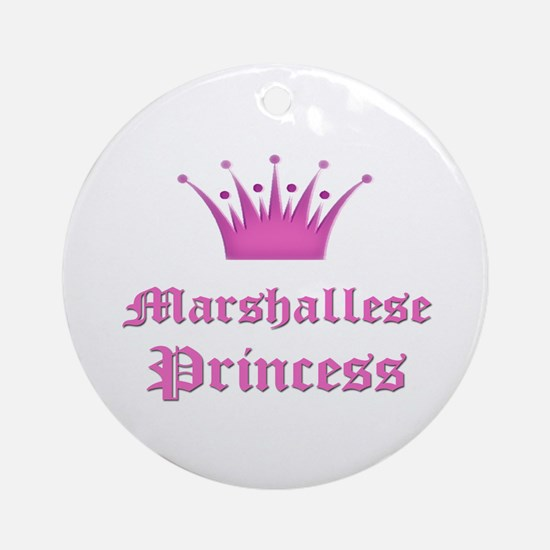 Marshallese Princess Ornament (Round)