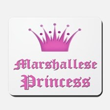 Marshallese Princess Mousepad