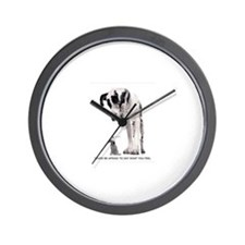 Unique Fawn great dane Wall Clock