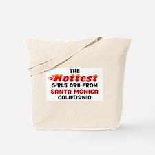 Hot Girls: Santa Monica, CA Tote Bag
