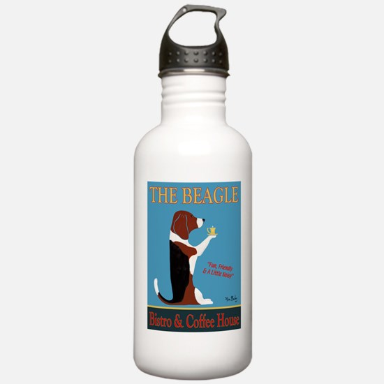 The Beagle Bistro & Co Water Bottle