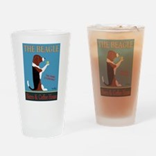 The Beagle Bistro & Coffee Shop Drinking Glass
