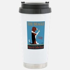 The Beagle Bistro & Cof Stainless Steel Travel Mug