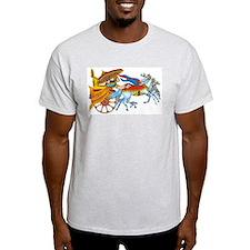Hindu Deity Ash Grey T-Shirt