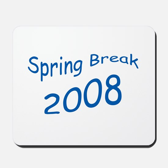Blue Spring Break Mousepad