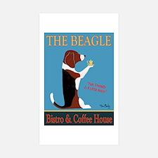 The Beagle Bistro & Coff Sticker (Rectangle 10 pk)