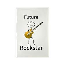 Future Rock Star Rectangle Magnet