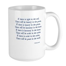 beauty light peace Mug