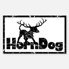 Horndog... Rectangle Decal