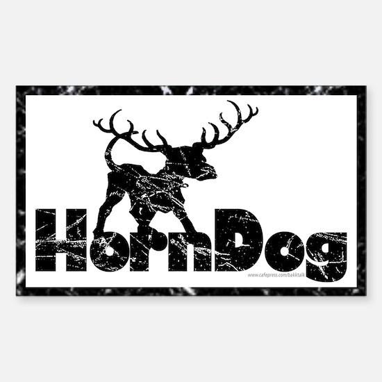 Horndog... Rectangle Decal